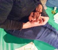 Les gestes de la réflexologie pour les bébés